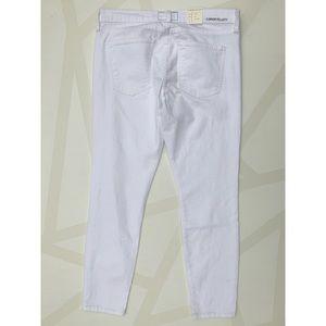 Current/Elliott Jeans - Current/Elliott The Stiletto Skinny Jeans White 30